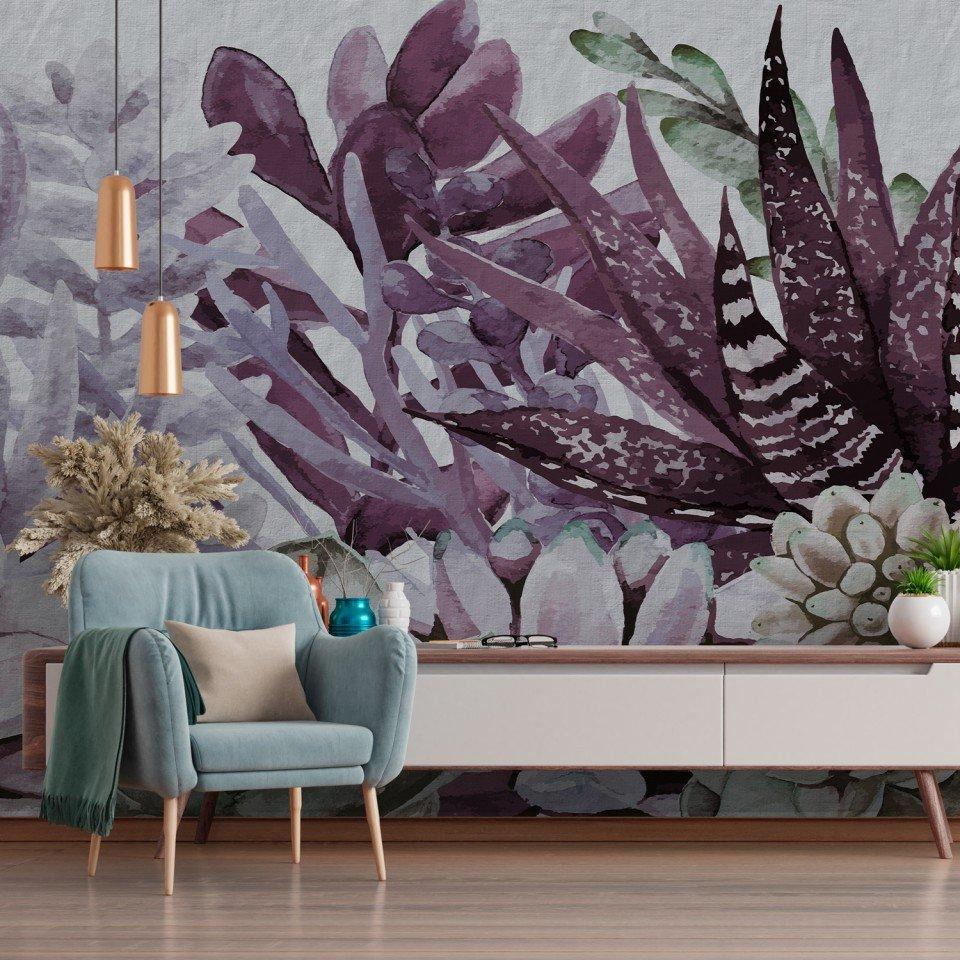 carta-da-parati-violetcactus